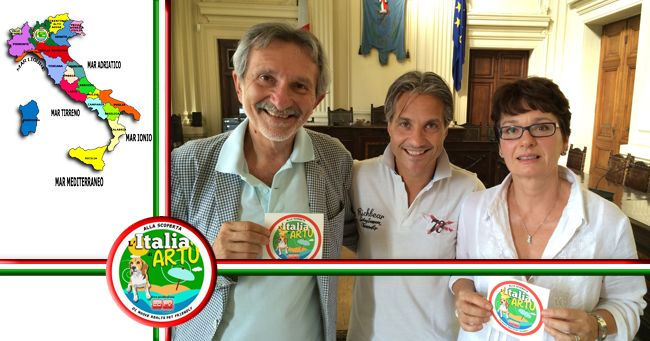 Video, Italia di Artù in visita dal Sindaco di Montecatini Terme