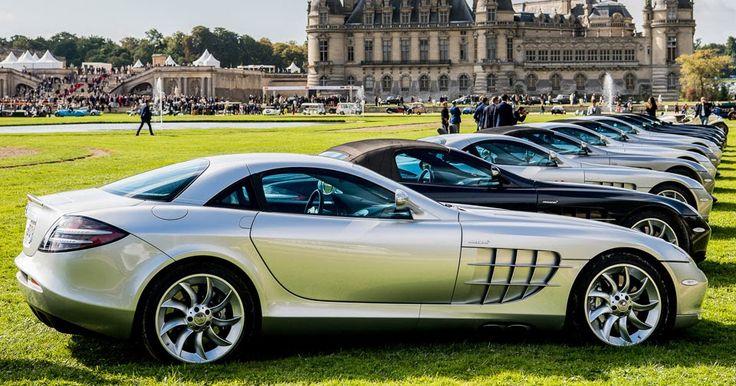 Own A Mercedes-Benz SLR McLaren? Join The Club #Chantilly #Mercedes