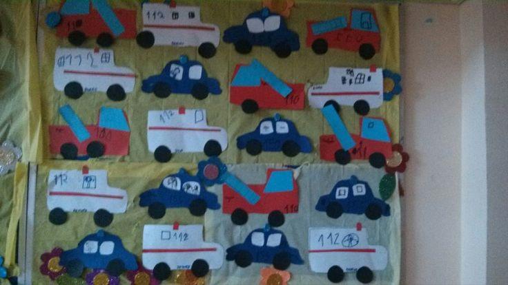 Acil numaralar, 112 155 110#okulöncesi #kindergarden #motorgelişim