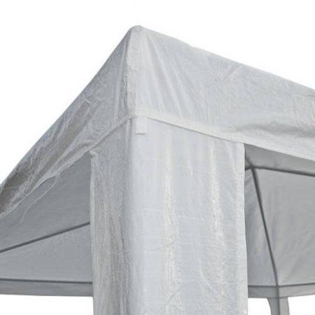 Aleko GZ10X10WH Waterproof Gazebo Tent Canopy For Outdoor Events Picnic Parties, White Color