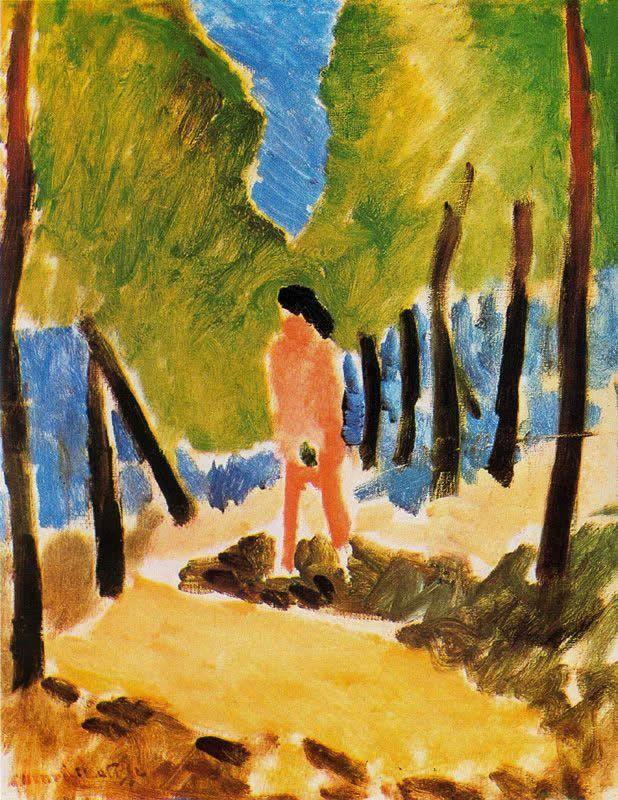 Henri Matisse - Nude In Sunlit Landscape