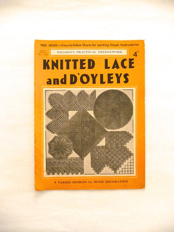 Weldon's Practical Needlework Knitted Lace and
