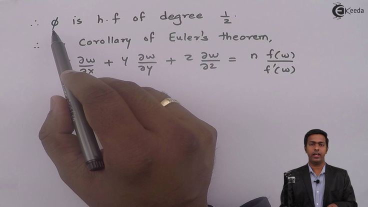 Learn Homogenous Functions (Euler's theorem) | Problem 3 on Corollary Eu...