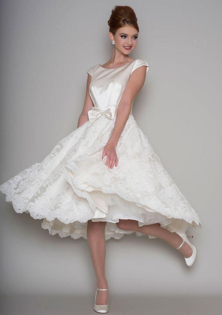 The 25 Best Knee Length Wedding Ideas On Pinterest Short Elegant Bridal And White