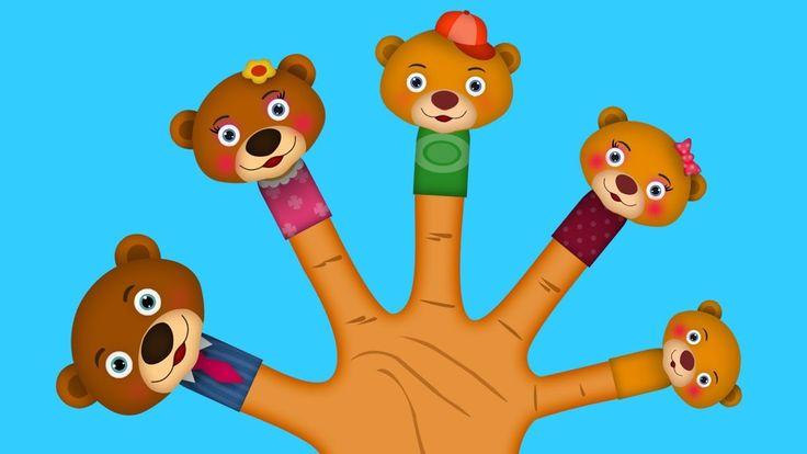The AnimalBear Finger family Finger Family Nursery Rhyme | Finger Family Songs