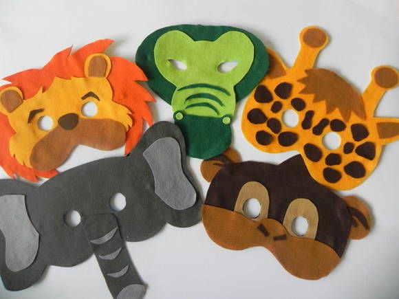 Para hacer máscaras de Animales