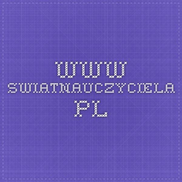 www.swiatnauczyciela.pl