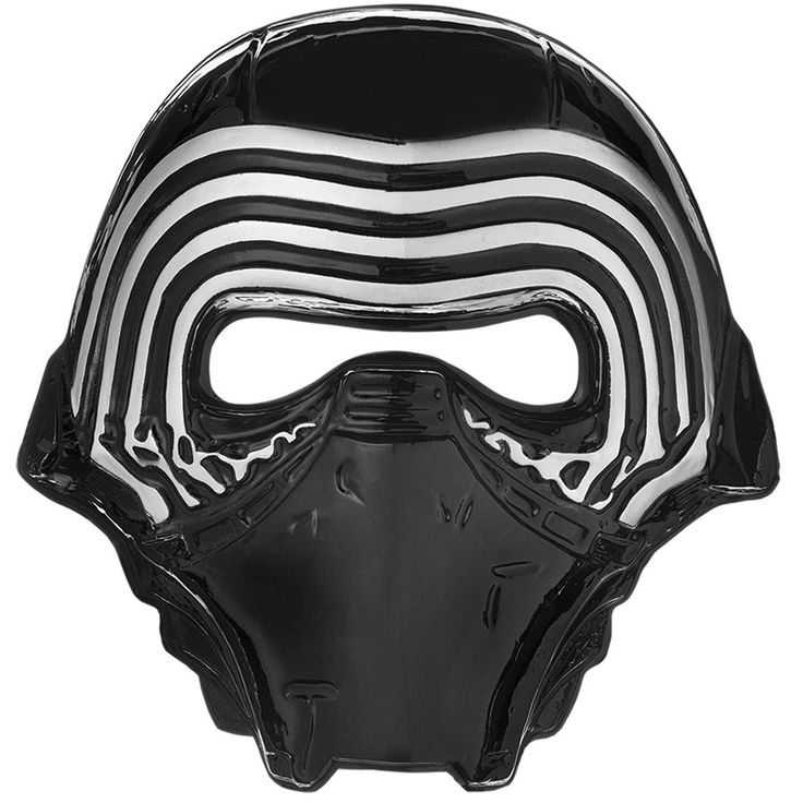 Star Wars 7 The Force Awakens Plastic Mask from BirthdayExpress.com