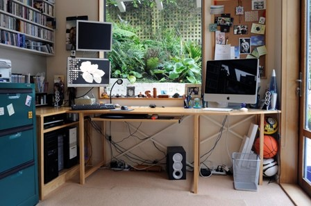 Work at home #creative space NZ