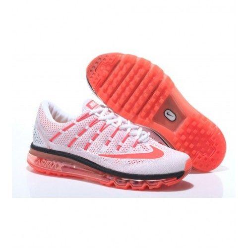 Nike Dámské - Dobry Air Max 2016 Bílý Oranžový 0162 Dámské Běžecké Boty