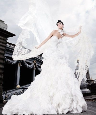French haute couture wedding dress vestidos pinterest for French couture dresses