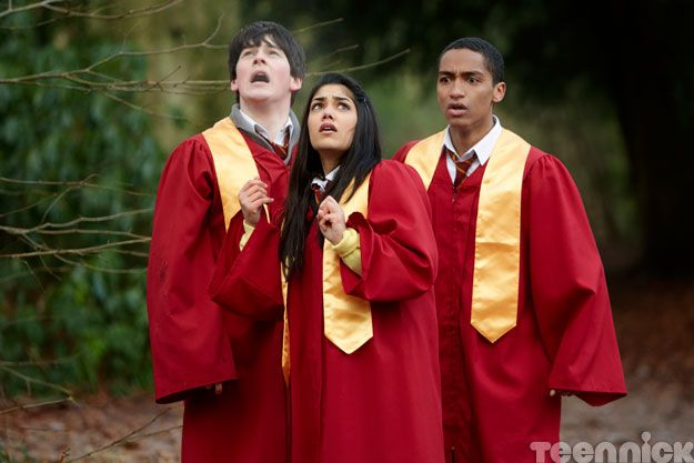 """House of anubis nina and fabian   ... From The New """"House of Anubis"""" TV Movie, """"Touchstone of Ra"""