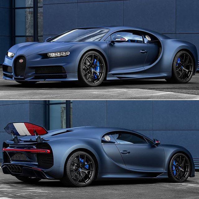 Bugatti Chiron Sport 110 ans Bugatti 2019 Parabéns Bugatti! Para comemorar os 1...
