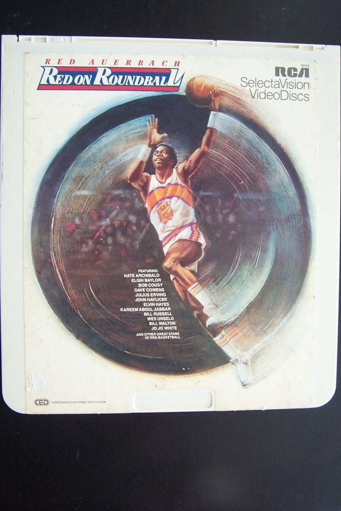 Red Auerbach - Red On Roundball CED Videodisc