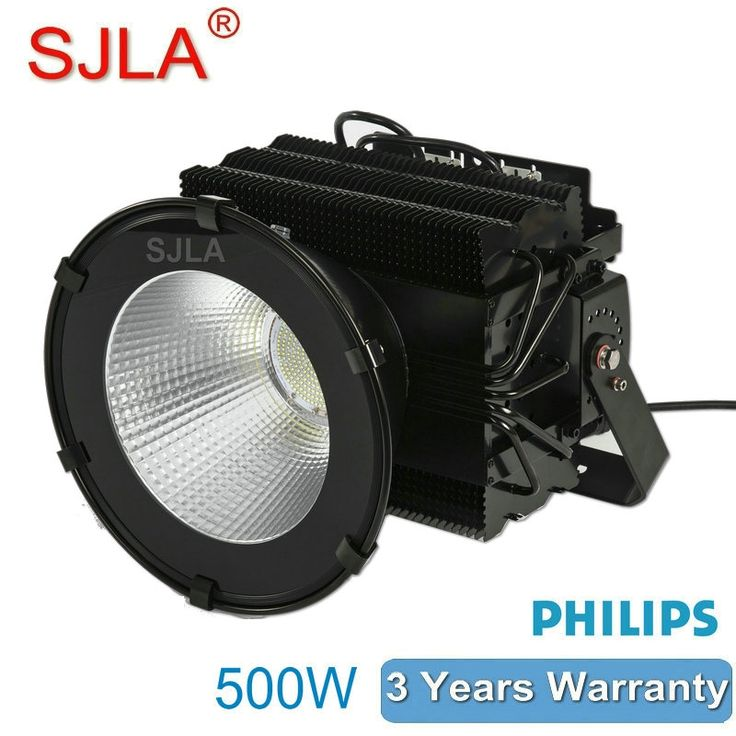 579.00$  Watch here - http://ali84u.worldwells.pw/go.php?t=32688182265 - Waterproof Pier Basketball Stadium Football Field Golf Harbour Airport Outdoor Lighting SJLA High Bay 500W Led Flood Light 579.00$