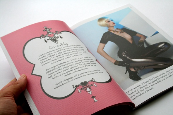 Coccolily look book  Design, Cool Stationary.  Clothing look book.
