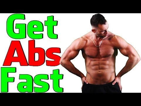 how to get abs fast without dieting