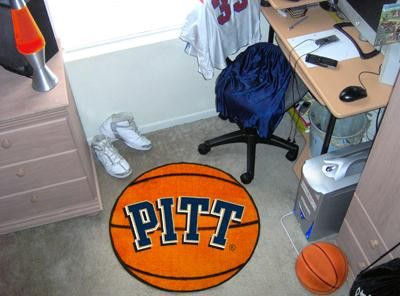University of Pittsburgh Basketball Rug