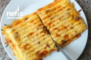 Sucuklu Patates Tost