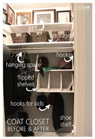 Home Made by Carmona: Closet Organization
