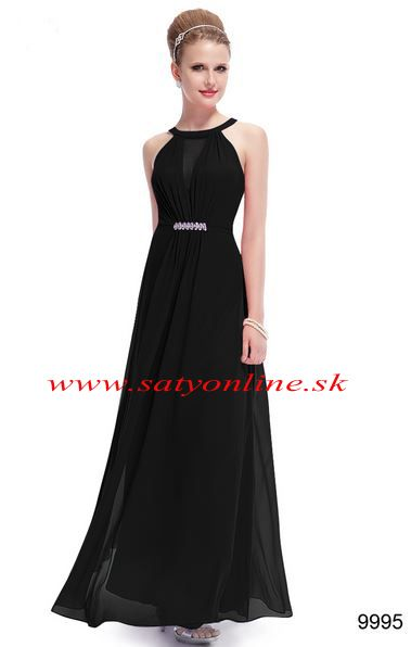 Čierne šaty 9995