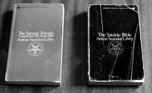 The Satanic bible and The Satanic Rituals by Anton Szandor LaVey