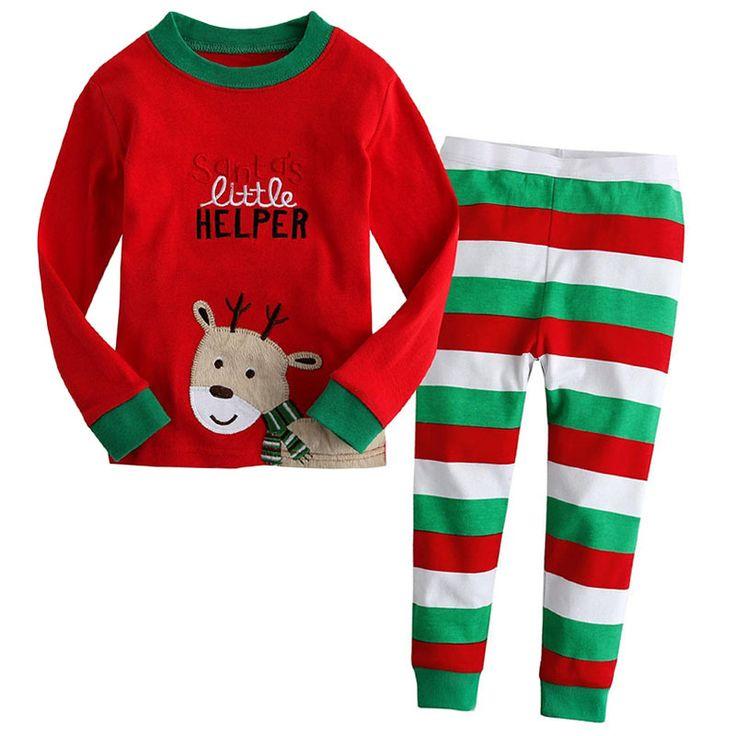 $7.99 (Buy here: https://alitems.com/g/1e8d114494ebda23ff8b16525dc3e8/?i=5&ulp=https%3A%2F%2Fwww.aliexpress.com%2Fitem%2F2015-Brand-Character-Elsa-Pajamas-Set-Baby-Girls-Cute-Cotton-Sleepwear-Pajamas-Set-Children-Kids-Pijama%2F32280866963.html ) 2017 Pajamas for Girls Pijamas Set Christmas Baby Girls Kids Clothes Children Cartoon Clothing Sets Princess Kids Pyjamas for just $7.99