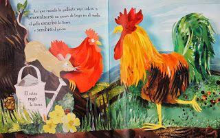 Aprendizaje Divertido: Libro: La gallinita roja y sorteo