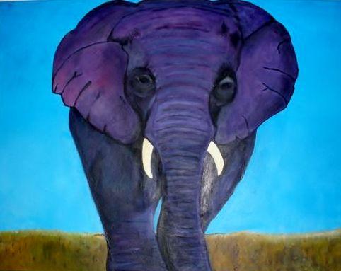 paarse olifant