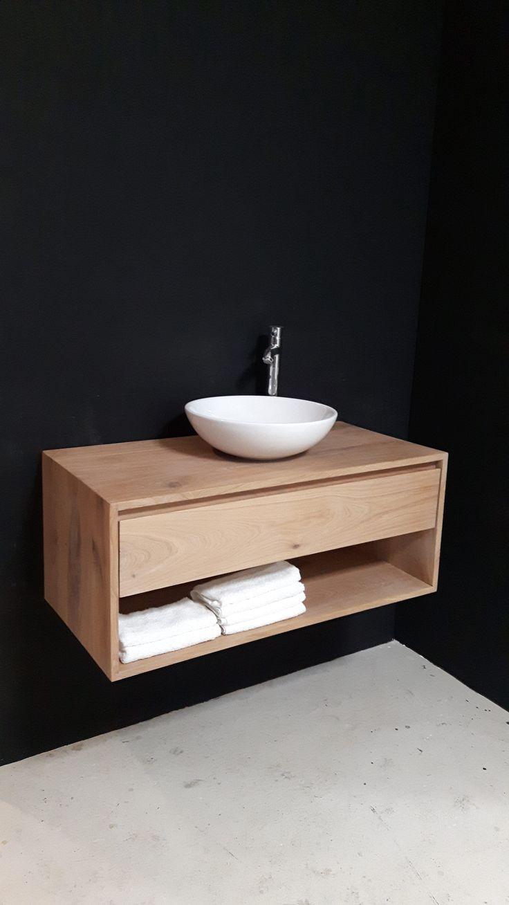25 beste idee235n over badkamermeubel op pinterest