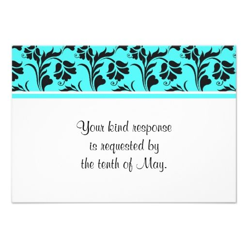 11 best flower themed rsvp wedding invitations images on pinterest coral navy stopboris Images
