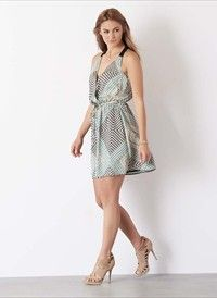 Printed Wrap Dress. Get substantial discounts up to 50% Off at Dynamite Clothing using coupon & Promo Codes.