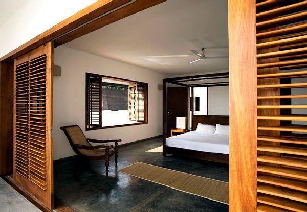 Bedroom Of Seaside House Kerala Home Design Is Dream Located On The Beach Seekayem