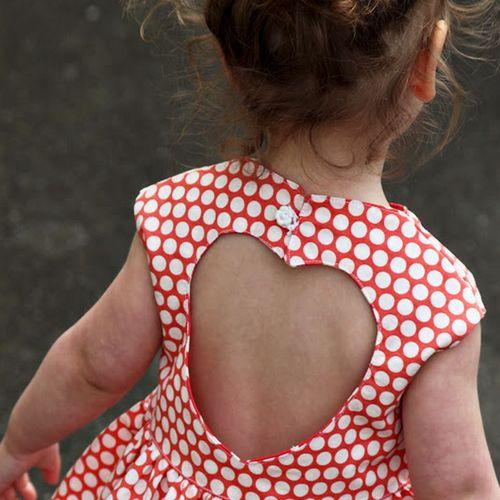 DIY Easy Spring Dress Pattern #spring #sewing #easy