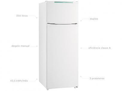 Geladeira/Refrigerador Consul Duplex 334L Cycle - Controle Eletrônico de Temperatura CRD37EB com as melhores condições você encontra no Magazine Juarezr. Confira!