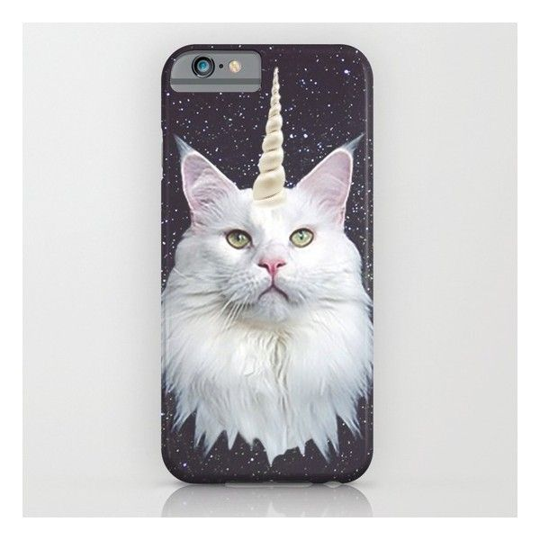 Unicorn Cat iPhone 6s Case (£24) ❤ liked on Polyvore featuring accessories, tech accessories, phone cases, iphone, phones, cases und iphone & ipod cases