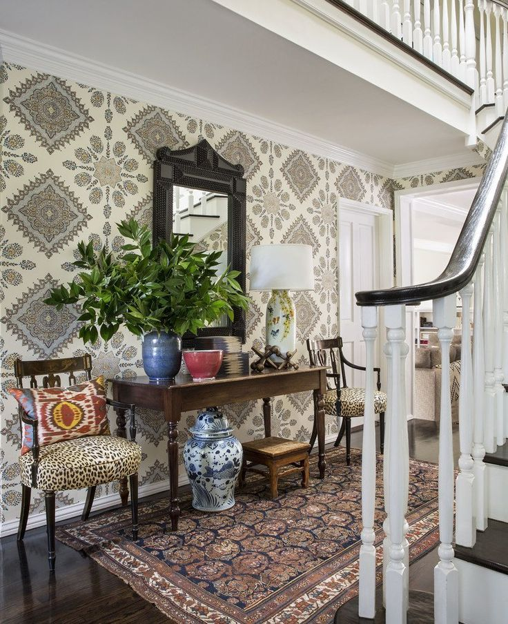 Foyer Wallpaper List : Best entryway wall ideas on pinterest entry tv