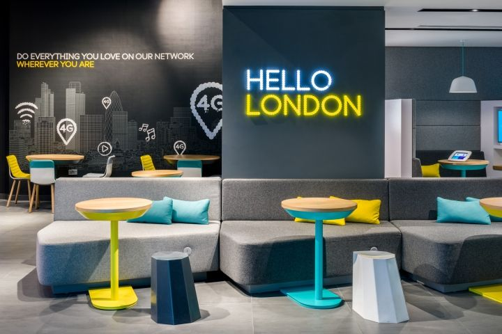 Store design for EE by Quinine, London – UK » Retail Design Blog