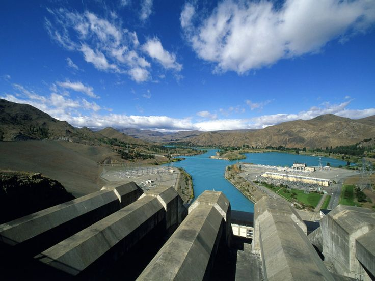 Picture of hydropower dam
