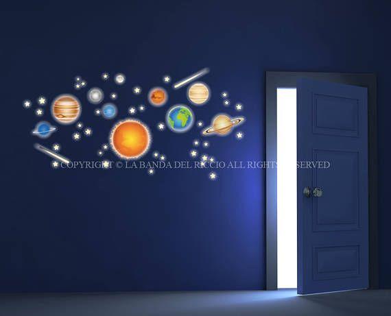 7 best Wall decals, baby decal fluo, Adesivi da muro fluo, glow in - einrichten naturtonen beispiele modern