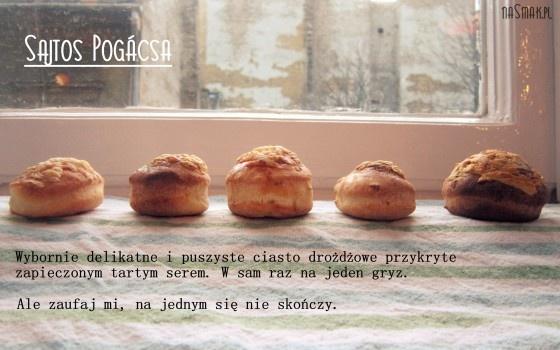 Sajtos Pogácsa, czyli węgierskie bułeczki z serem