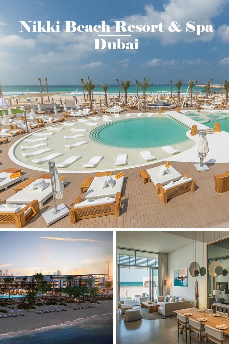 NIKKI BEACH RESORT & SPA | Dubai: Côte d'Azur Feeling trifft auf einen üppigen Luxus-Mix aus modernem Lifestyle und arabischer Gastfreundschaft direkt am 400 m langen Privatstrand der Halbinsel Pearl Jumeirah