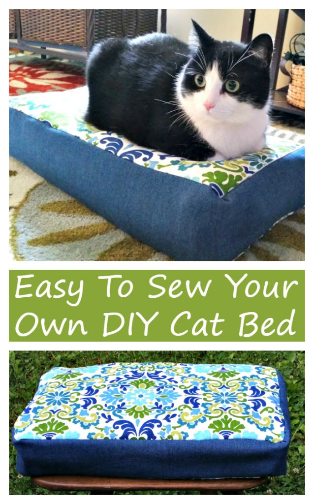 1000+ Ideas About Diy Cat Bed On Pinterest