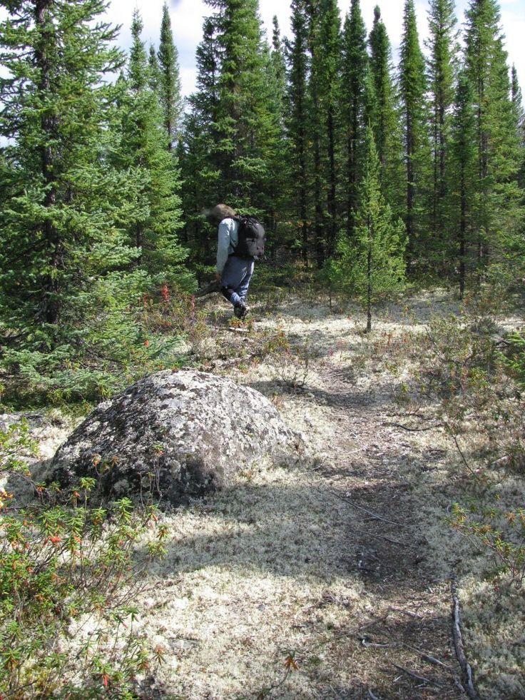 Manitou Gorge portage trail