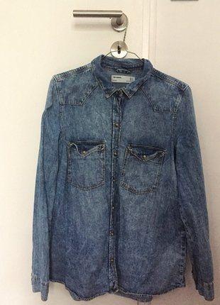 Kup mój przedmiot na #vintedpl http://www.vinted.pl/damska-odziez/koszule/17936162-koszula-jeansowa-zara