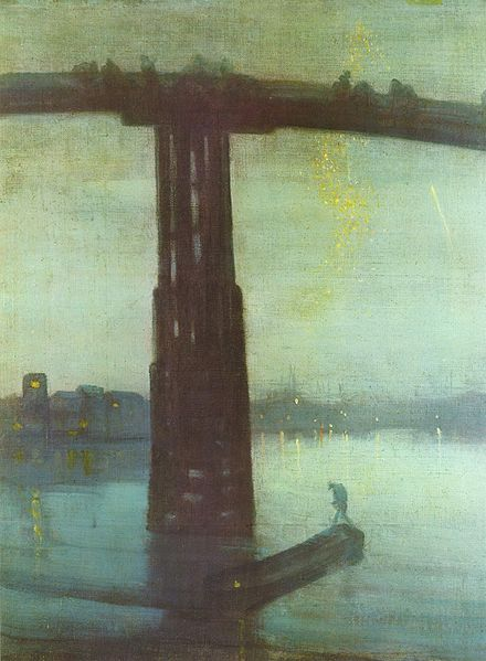 James McNeill Whistler, Nocturne in Blue and Gold: Old Battersea Bridge, c.1872-'85