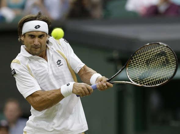 Del Potro vs. Ferrer en Wimbledon.