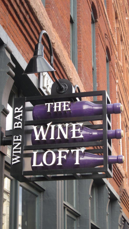 signage for Wine Bar - Denver