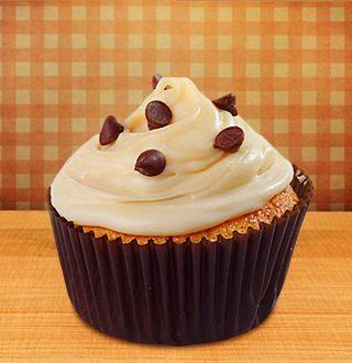 Cupcake de Chocolate Blanco | El Mundo Dulce