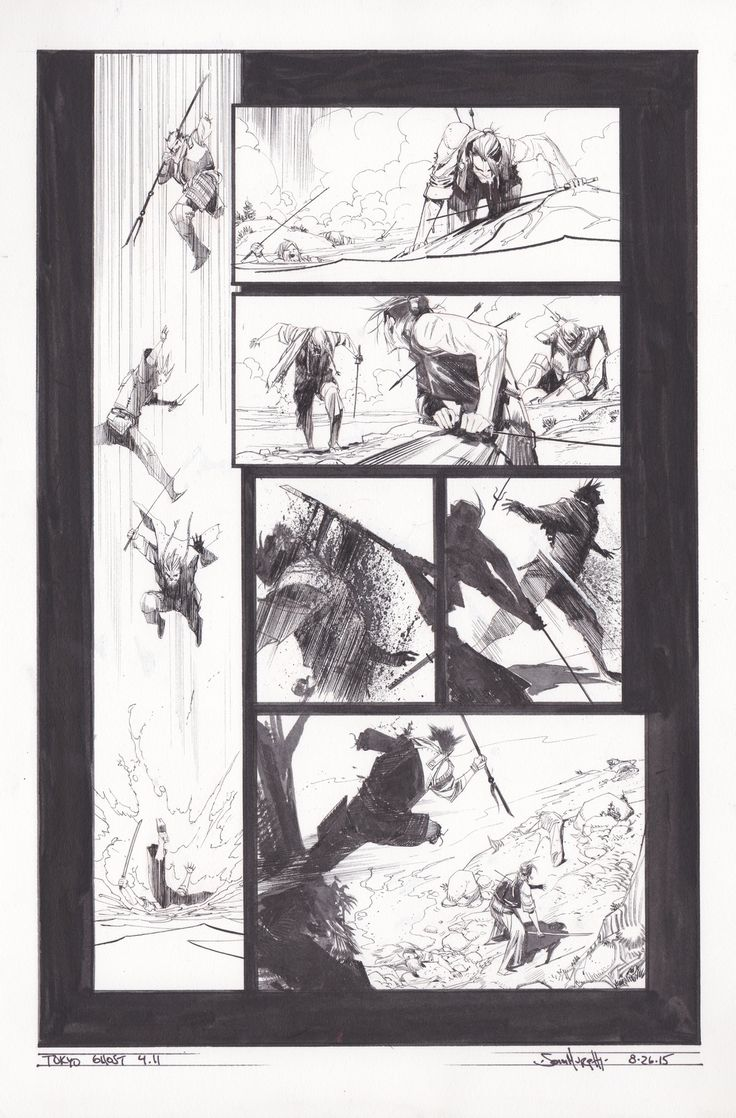 Tokyo Ghost / Original art by Sean Gordon Murphy, Rick Remender in category Strips